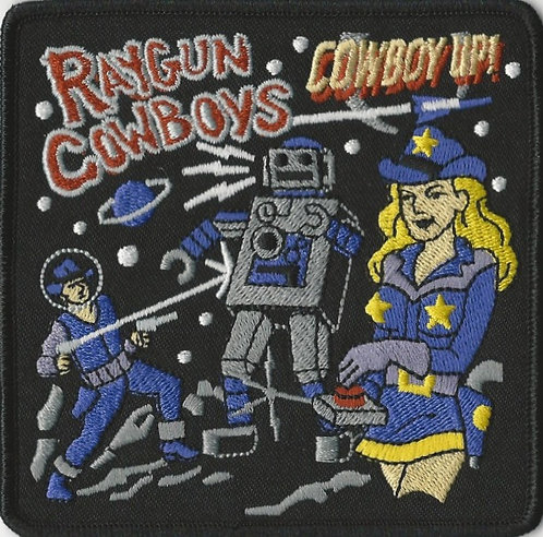 Raygun Cowboys - Cowboy Up Embroidered Patch