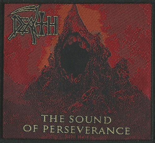 Death - The Sound of Perseverance Woven Patch