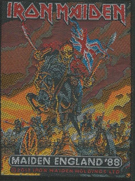 Iron Maiden - Maiden England 88 Woven Patch