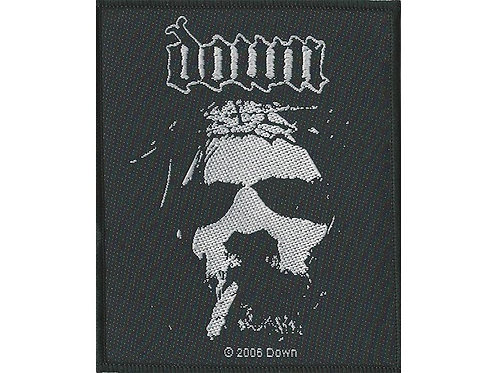 Down - Face Woven Patch