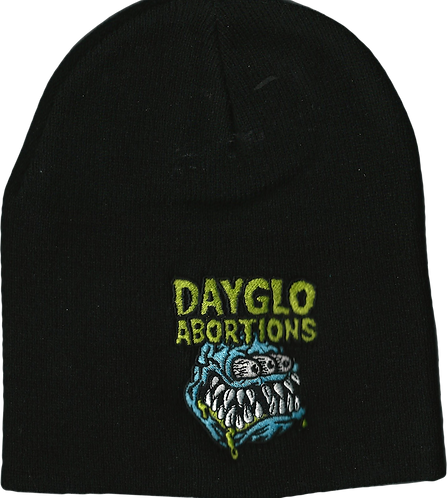 Dayglo Abortions - 3 Eyed Monster Beanie
