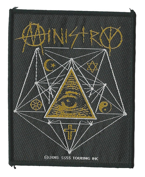 Ministry - All Seeing Eye Woven Patch