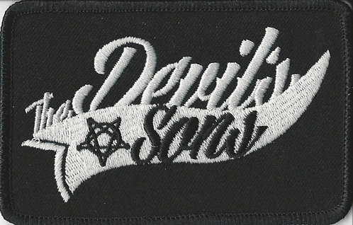 The Devil's Sons - Star Logo Black Embroidered Patch