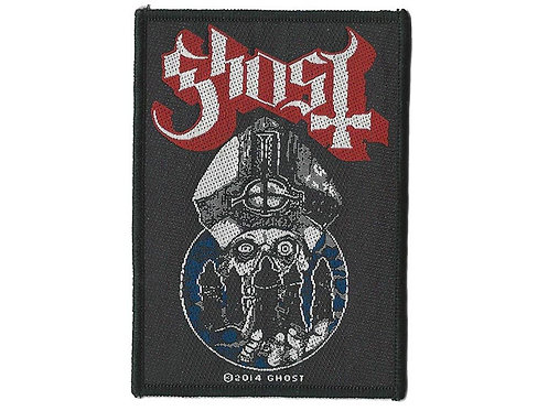 Ghost - Warrior Woven Patch