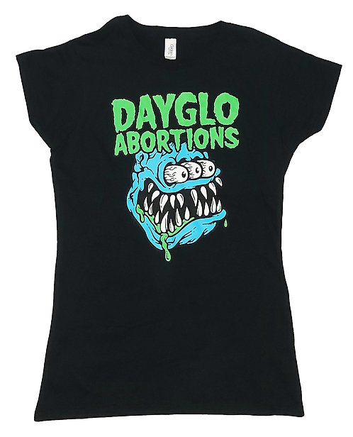 Dayglo Abortions - 3 Eyed Monster Ladies Tee