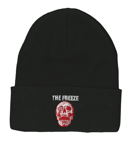 The Freeze - Red Skull Logo Beanie