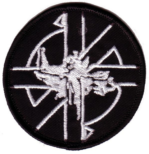 Crass - Scales of Justice Embroidered Patch
