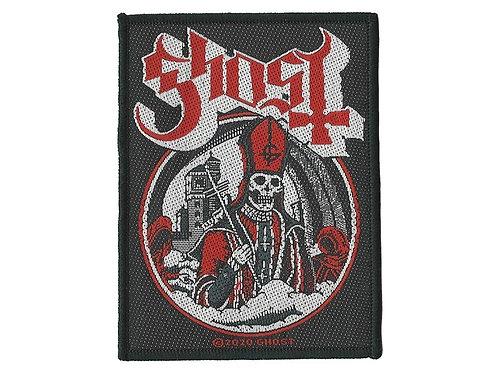 Ghost - Secular Haze Woven Patch