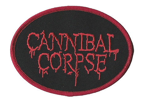 Cannibal Corpse - Logo Embroidred Patch