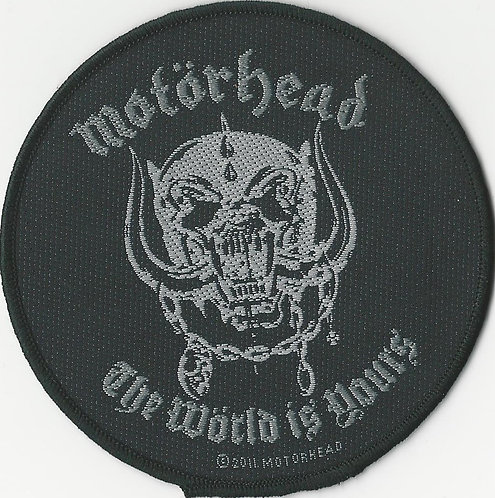 Motorhead - Ace of Spades Woven Patch