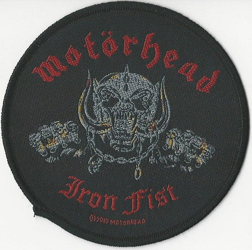 Motorhead - Iron Fist Woven Patch