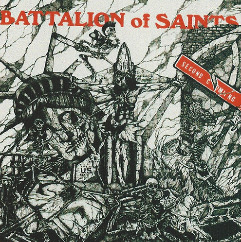 Battalion of Saints - 2nd Coming Sticker