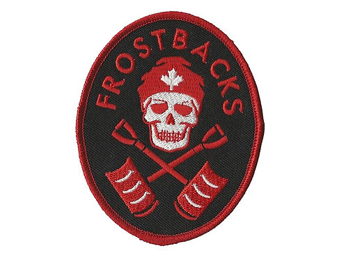 Frostbacks - Logo Embroidered Patch