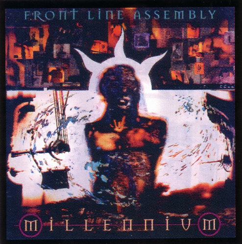 Front Line Assembly - Millenium Sticker
