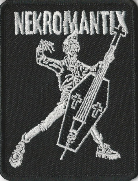Nekromantix - Coffin Bass Is Cool Embroidered Patch