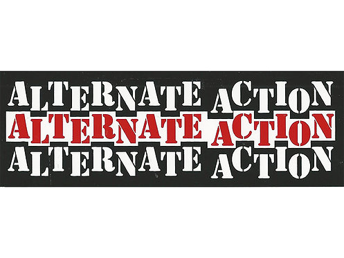 Alternate Action - Logo Sticker