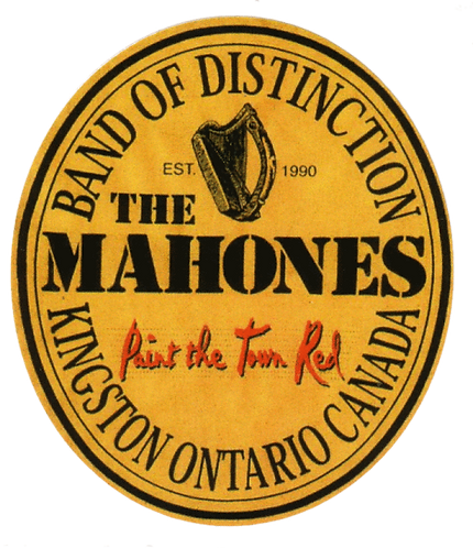The Mahones - Paint the Town Red Sticker