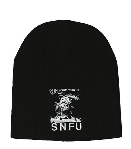 SNFU - Open Your Mouth Beanie