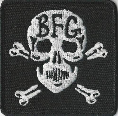 Bunchofuckingoofs - Skull & Crossbones Embroidered Patch