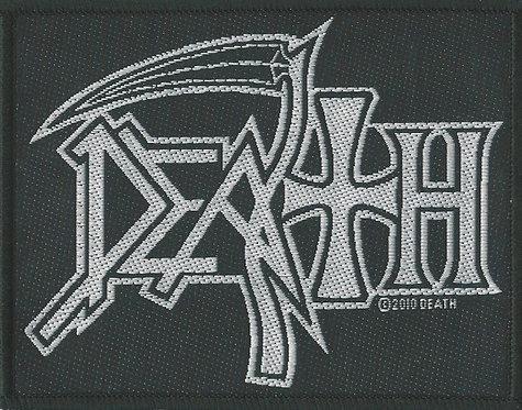 Death - Logo Woven Patch