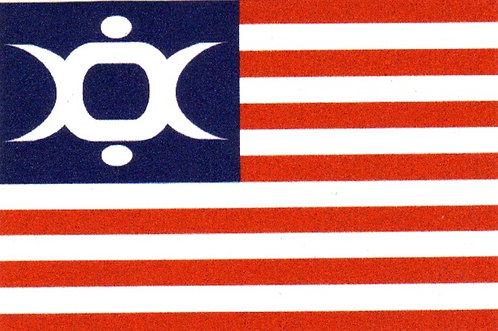 Icon of Coil - USA Flag Sticker