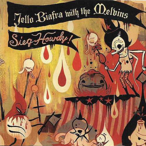 Jello Biafra with the Melvins - Sieg Howdy! LP