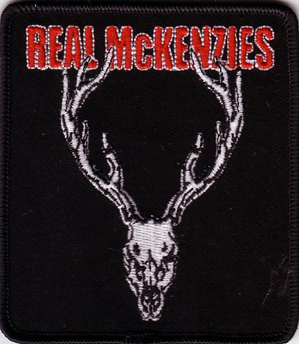 The Real McKenzies - Stag Embroidered Patch