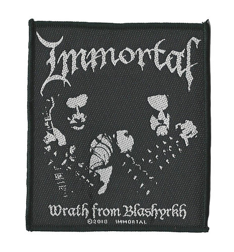 Immortal - Wrath from Blashyrkh Woven Patch