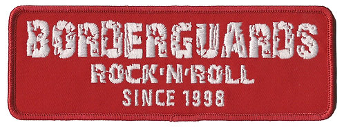 Borderguards - Rock n Roll Embroidered Patch