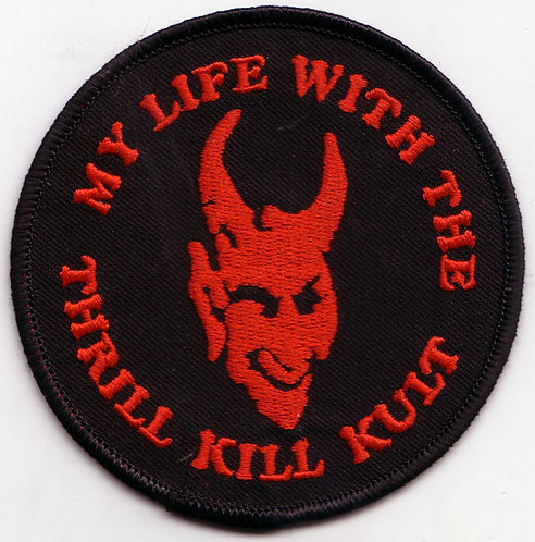 My Life with the Thrill Kill Kult - Gargoyle Head Embroidered Patch