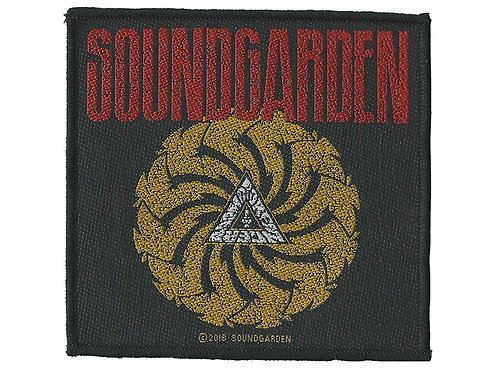 Soundgarden - Badmotorfinger Woven Patch
