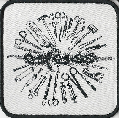 Carcass - Surgical Steel Woven Patch