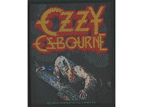 Ozzy Osbourne - Bark at the Moon Woven Patch