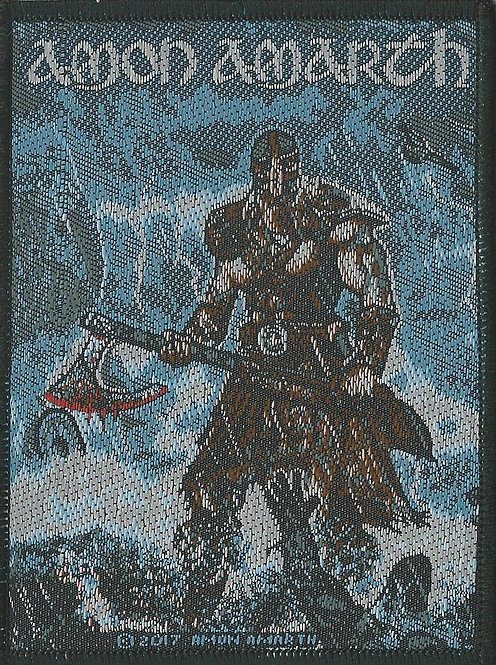 Amon Amarth - Jomsviking Woven Patch