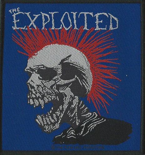 The Exploited - Mohican Woven Patch