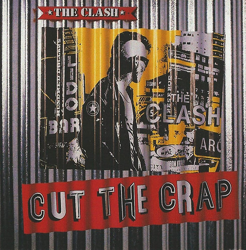 The Clash - Cut The Crap Sticker