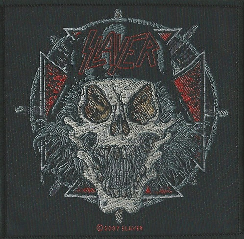 Slayer - Slaytanic Wehrmacht Woven Patch