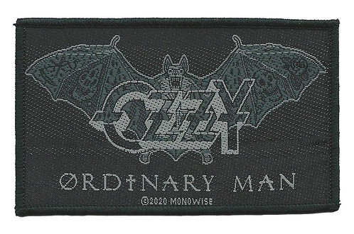 Ozzy Osbourne - Ordinary Man Woven Patch