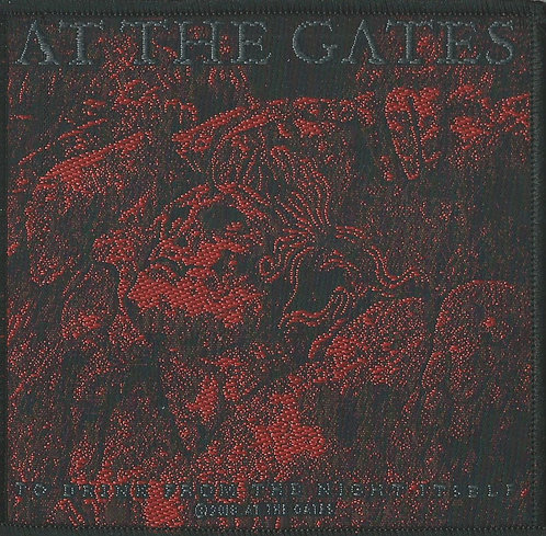 At The Gates - To Drink From The Night Itself Woven Patch