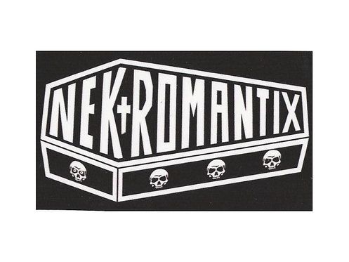 Nekromantix - Coffin Logo Sticker