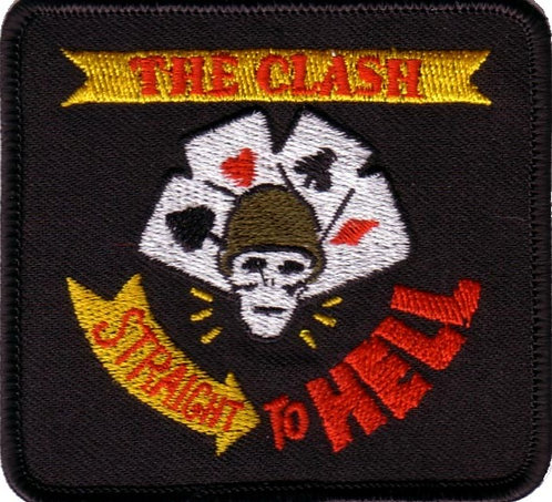 The Clash - Straight to Hell Embroidered Patch