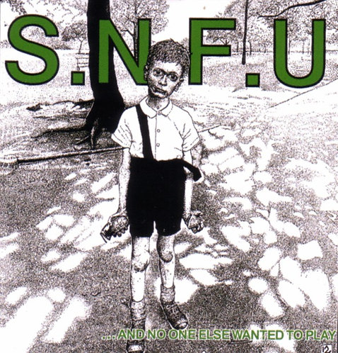 SNFU - Grenade Boy Sticker