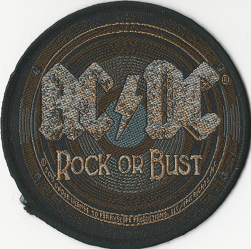 AC/DC - Rock Or Bust Woven Patch