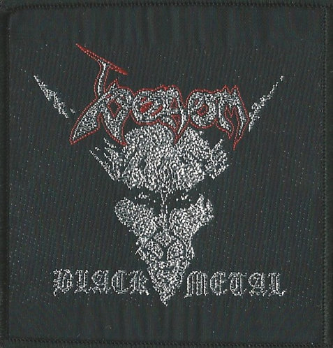 Venom - Black Metal Woven Patch