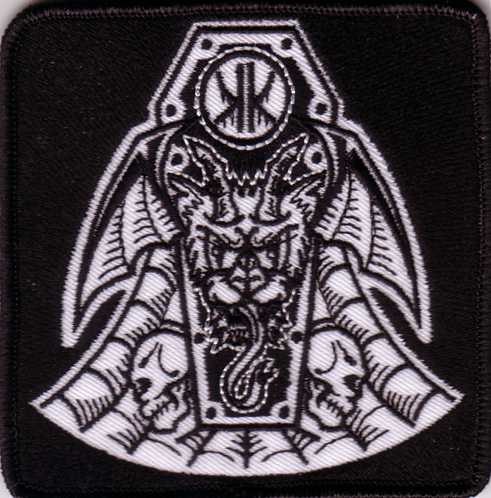 Koffin Kats - Cat Shield Embroidered Patch