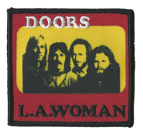 The Doors - LA Woman Embroidered Patch