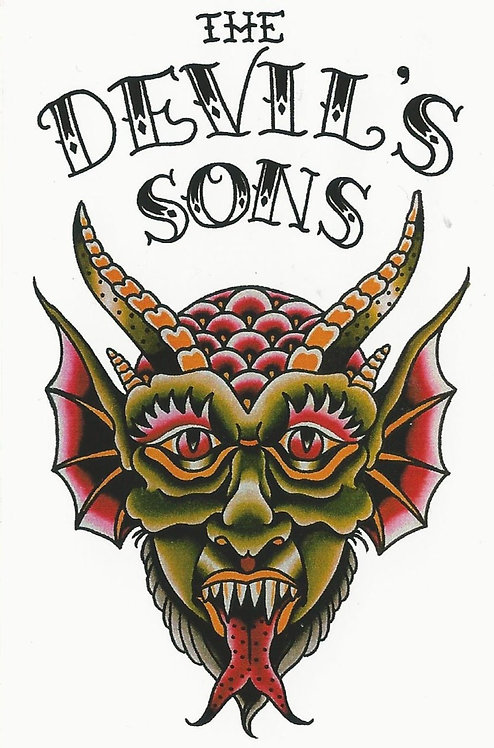 The Devil's Sons - Codex Sticker