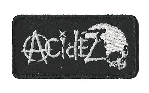 Acidez - Logo Embroidered Patch