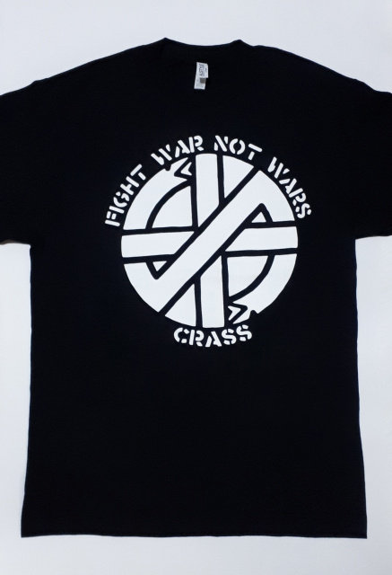Crass - Fight War Not Wars T-Shirt