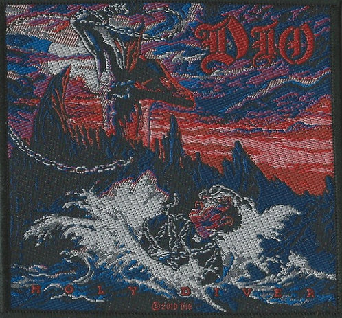 Dio - Holy Diver Woven Patch